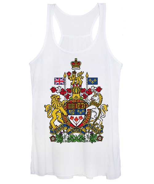 Canada Coat Of Arms Women's Tank Top