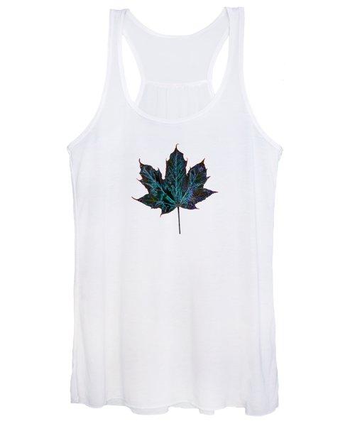 Canadian Diversity Maple Leaf Women's Tank Top
