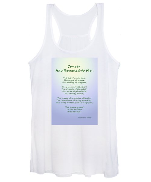 Cancer Has Revealed To Me Women's Tank Top
