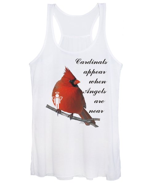 Cardinals And Angels Women's Tank Top