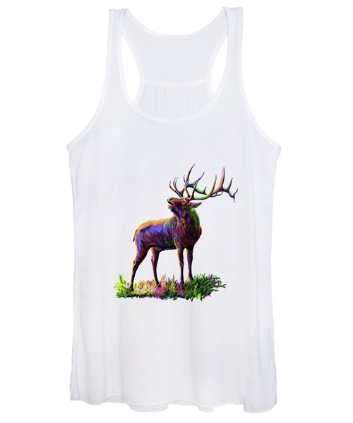 Colorful Caribou Women's Tank Top
