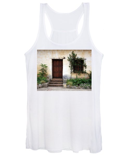 Carmel Mission Door Women's Tank Top