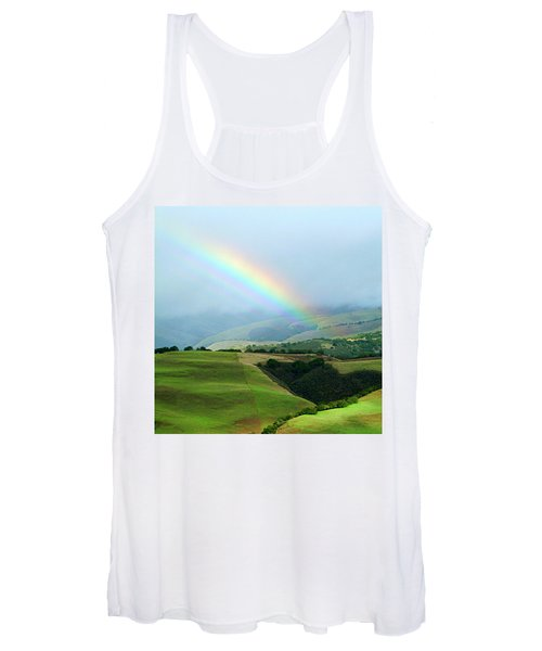 Carmel Valley Rainbow Women's Tank Top