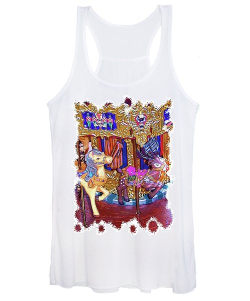 Carousel Christmas Women's Tank Top