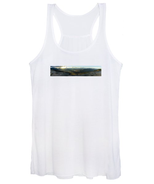 Cascade Mountain Sunset Women's Tank Top
