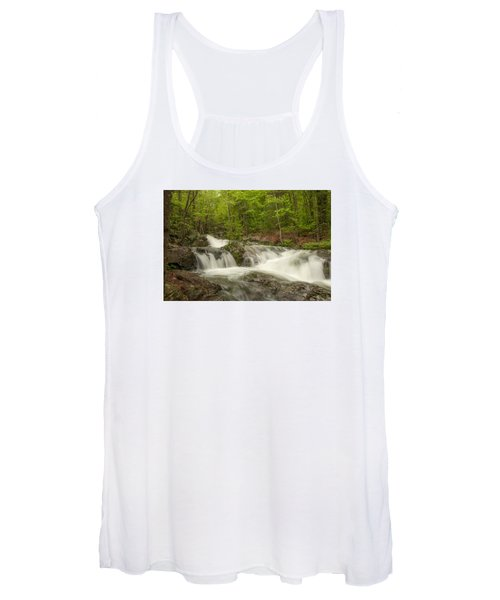 Cascades On The Brooks Falls Trail Women's Tank Top