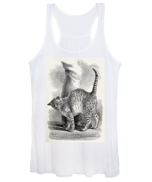 Cat In An Affectionate Frame Of Mind Women's Tank Top