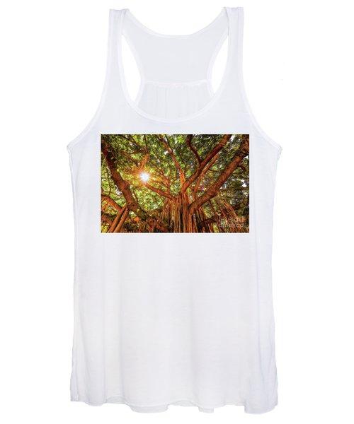 Catch A Sunbeam Under The Banyan Tree Women's Tank Top