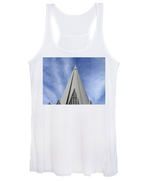 Cathedral Minor Basilica Our Lady Of Glory Women's Tank Top