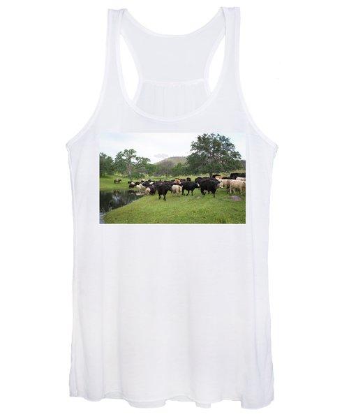 Cattle Women's Tank Top