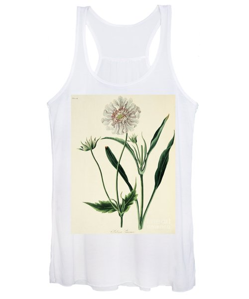 Caucasean Scabious Women's Tank Top