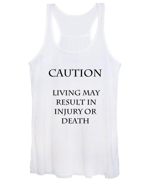 Caution Women's Tank Top
