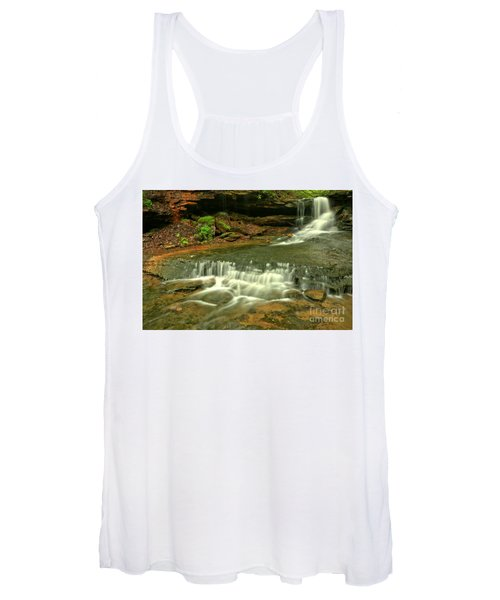 Cave Falls Landscape Women's Tank Top