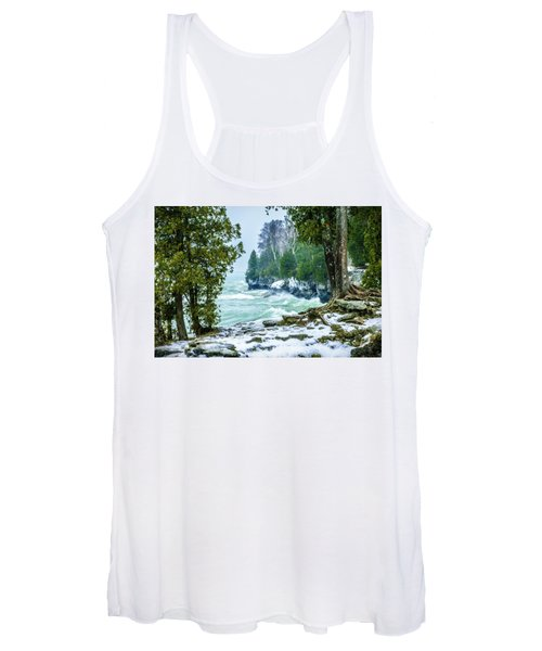Cave Point #5 Women's Tank Top
