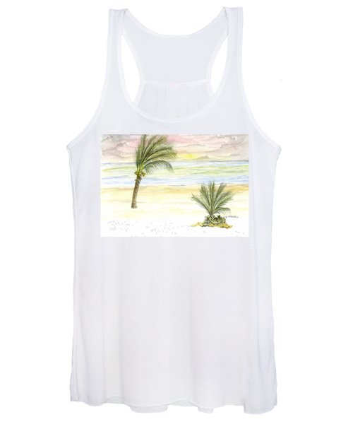 Cayman Beach Women's Tank Top