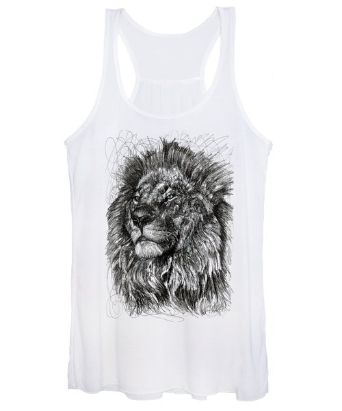 Cecil The Lion Women's Tank Top