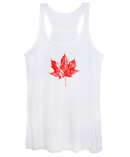 Celebrate Canada 150 Maple Leaf Women's Tank Top