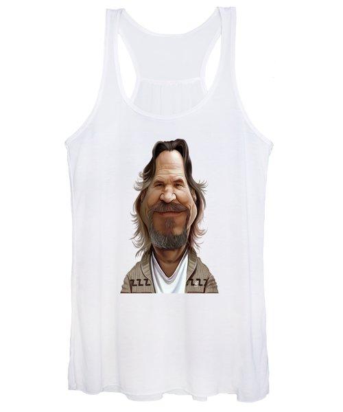 Celebrity Sunday - Jeff Bridges Women's Tank Top