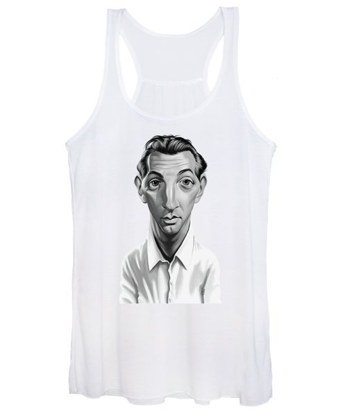 Celebrity Sunday - Robert Mitchum Women's Tank Top