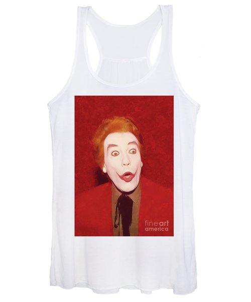Cesar Romero The Joker Women's Tank Top