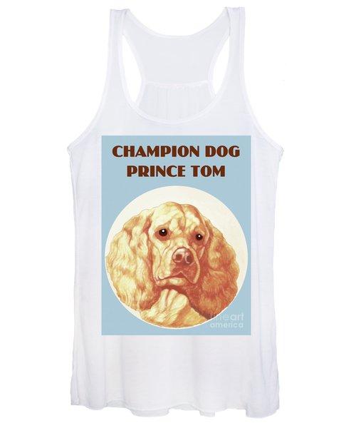 Champion Dog Prince Tom Women's Tank Top