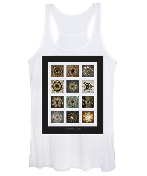 Collection Poster Chandeliers From Russia Women's Tank Top