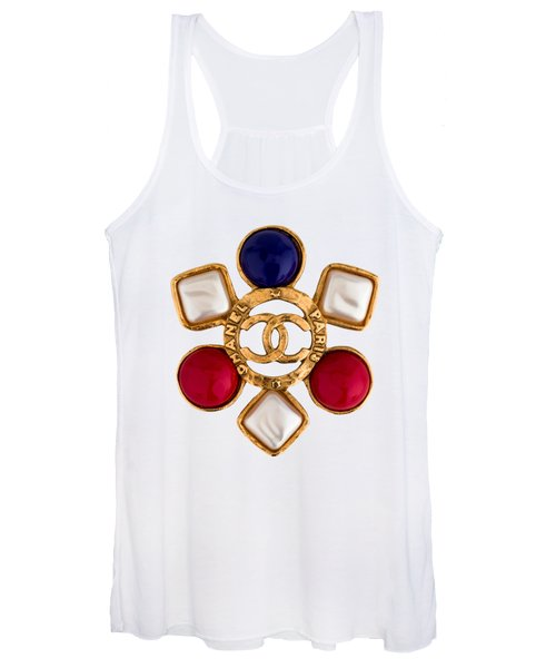 Chanel Jewelry-14 Women's Tank Top