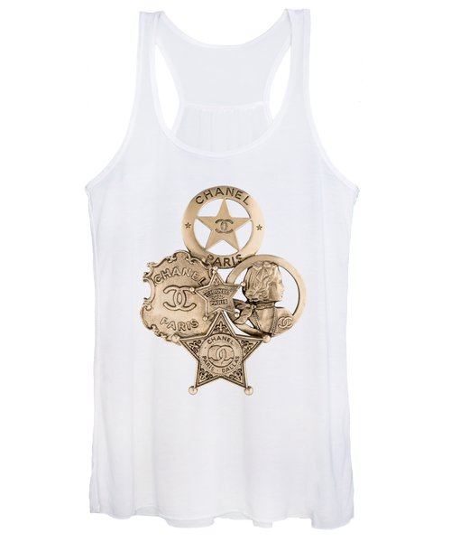 Chanel Jewelry-16 Women's Tank Top