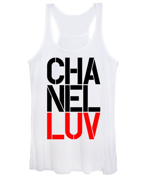 Chanel Luv-5 Women's Tank Top