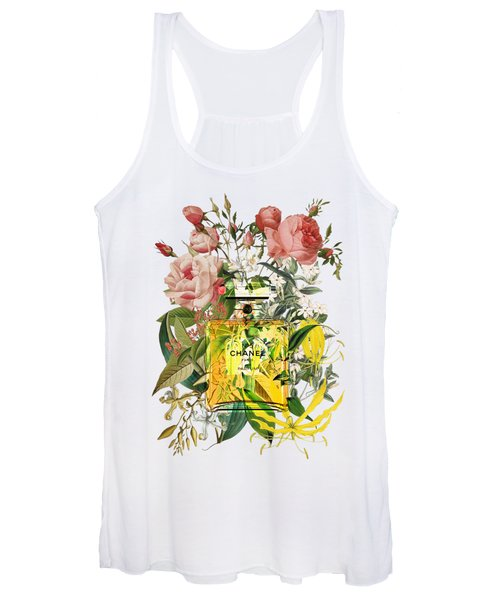 Chanel No. 5 Notes  Women's Tank Top