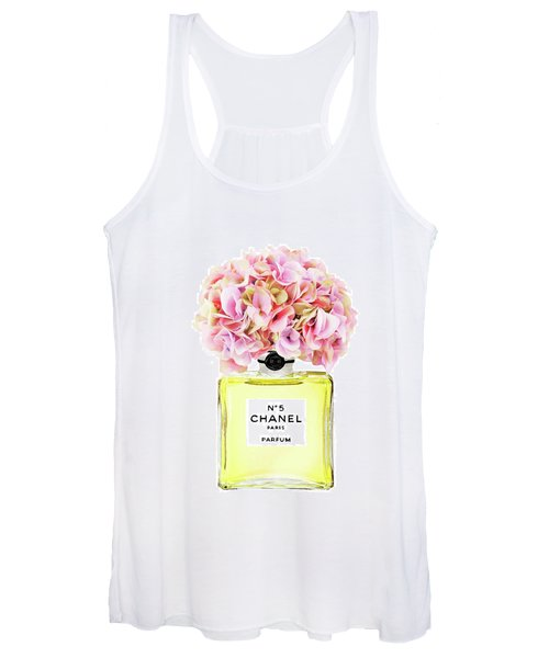 Chanel No.5 With Yellow Hydragenia 2 Women's Tank Top