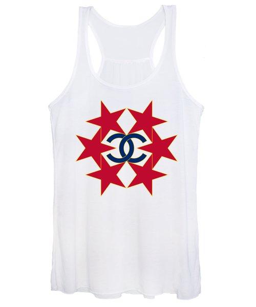 Chanel Stars-12 Women's Tank Top