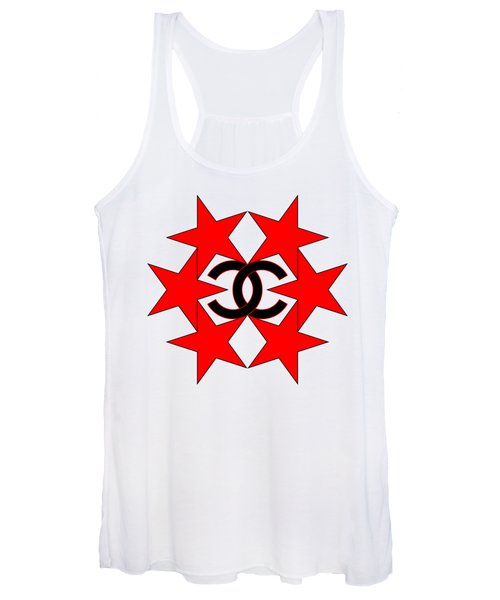 Chanel Stars-14 Women's Tank Top