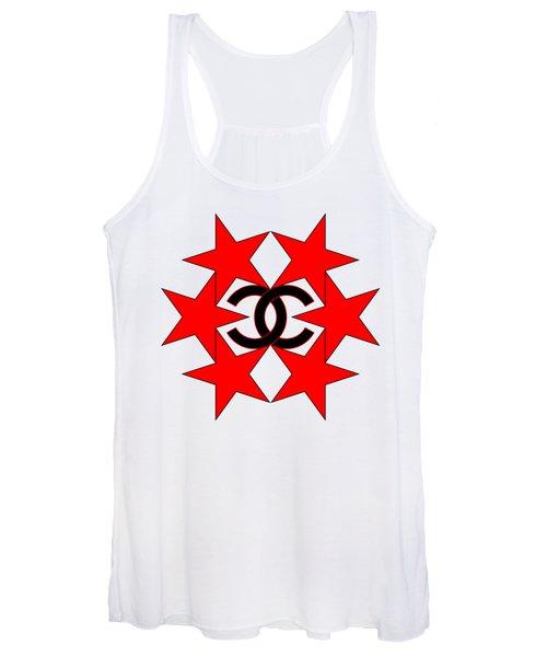 Chanel Stars-14 Women's Tank Top