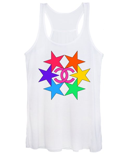 Chanel Stars-15 Women's Tank Top