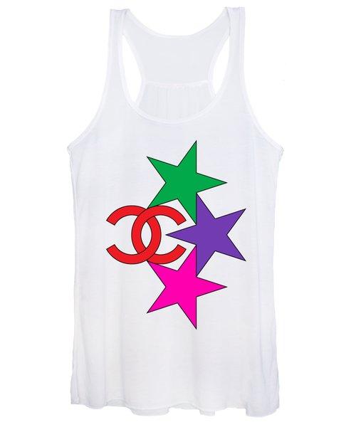 Chanel Stars-6 Women's Tank Top