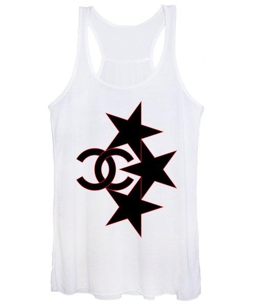 Chanel Stars-7 Women's Tank Top