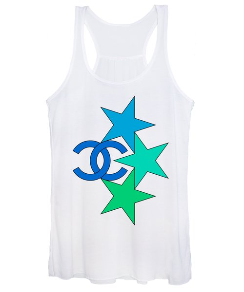 Chanel Stars-8 Women's Tank Top