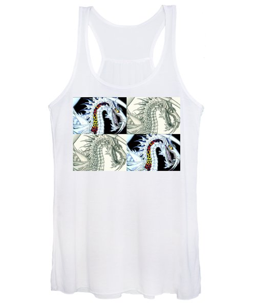 Chaos Dragon Fact W Fiction Women's Tank Top