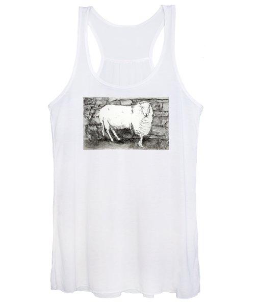 Charcoal Sheep Women's Tank Top