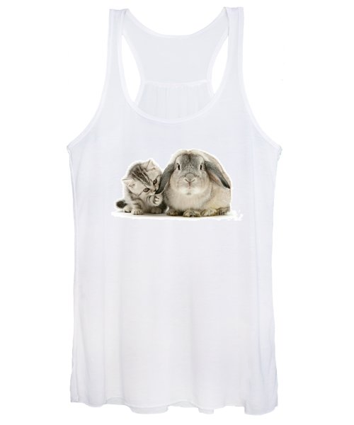 Checking For Grey Hares Women's Tank Top