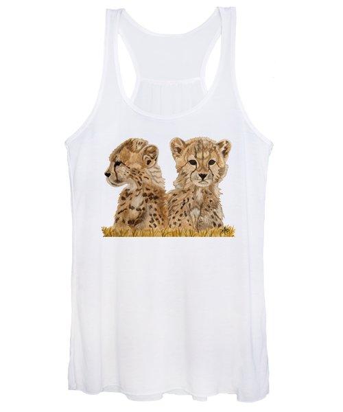 Cheetah Cubs Women's Tank Top