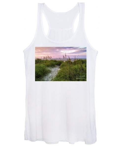 Cherry Grove Beach Scene Women's Tank Top