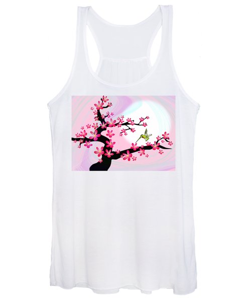 Cherry Tree Women's Tank Top