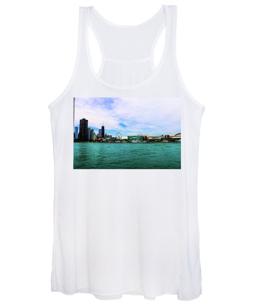 Chicago Blue Women's Tank Top