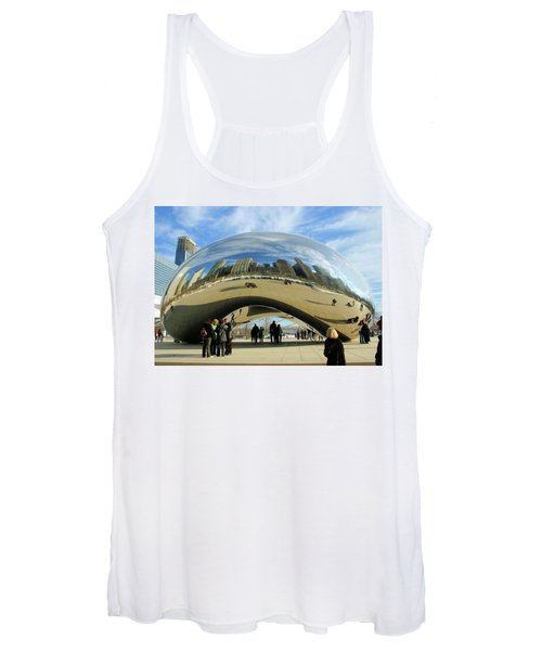 Chicago Reflected Women's Tank Top