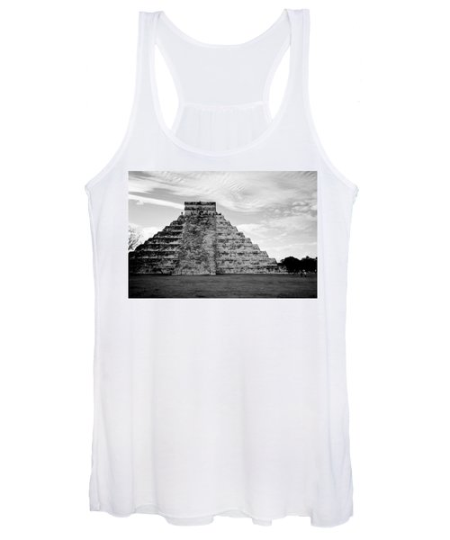 Chichen Itza B-w Women's Tank Top
