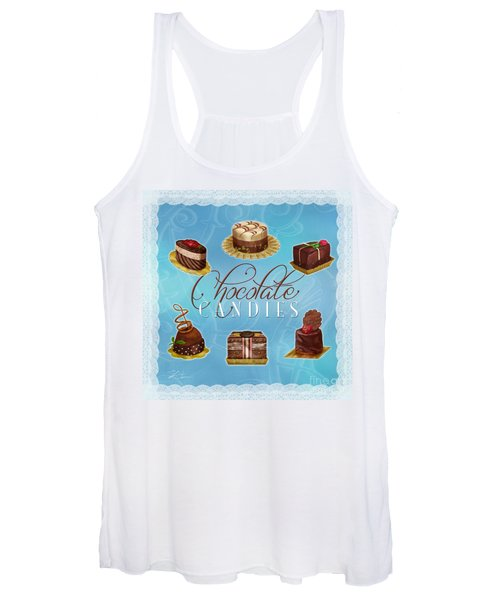Chocolate Candies Women's Tank Top