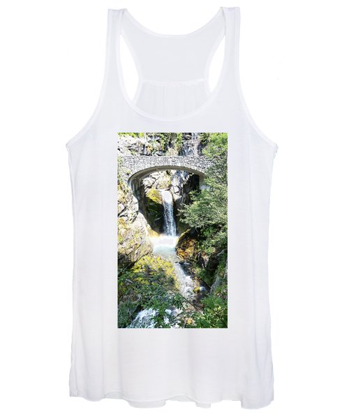 Christine Falls - Mt Rainier National Park Women's Tank Top