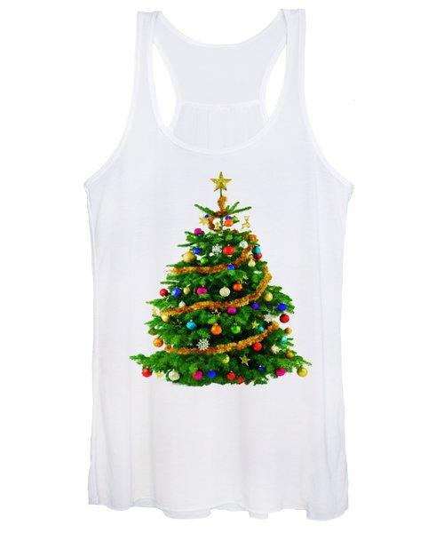 Christmas Tree 1417 Women's Tank Top